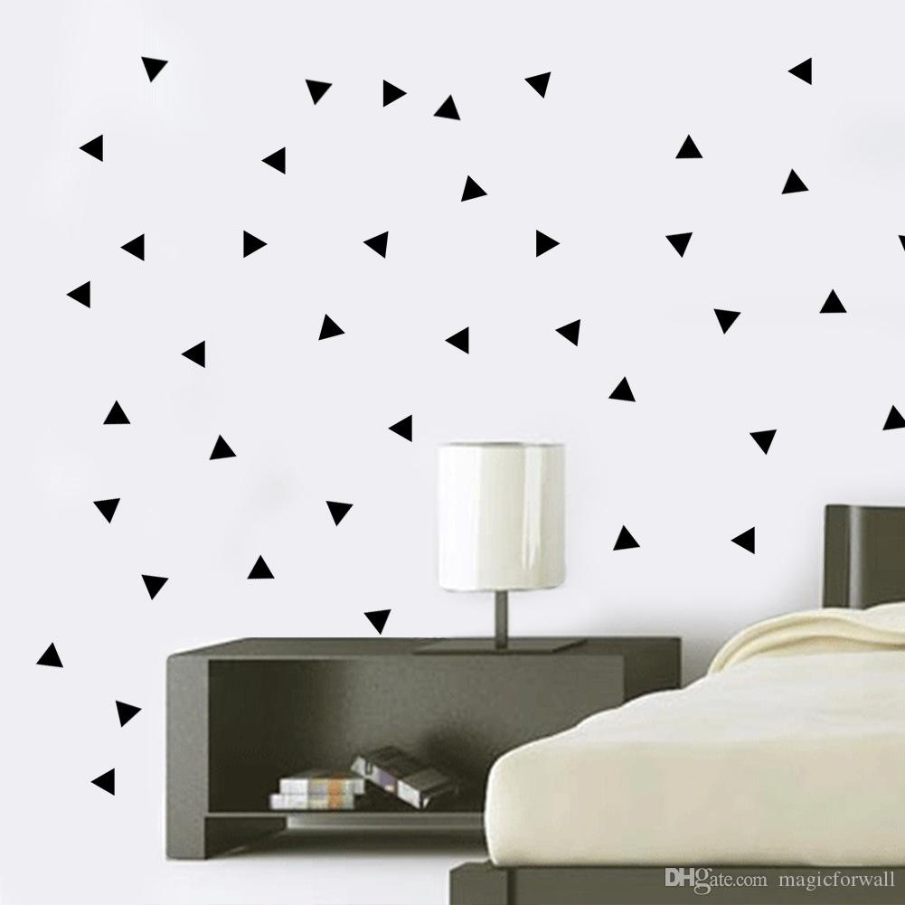 bedroom wall decor stickers find this pin and more on quote wall 154 pcs black triangle wall art mural decor sticker living room bedroom background wall applique fashion home decal wallpaper