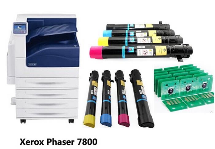 Xerox Phaser 7800 LaserJetプリンタートナーカートリッジの取り替え用チップ