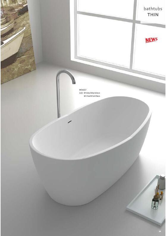 1760x870x580mm сертификат CUPC овальная отдельно стоящая акриловая ванна изготовлена из акриловой + ABS композитной доски ультратонкая ванна для замачивания WD007