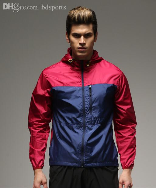 New Arrive Brand Messi Neymar Suarez winger jacket Ultra-light Outdoor Sport Waterproof Jacket Quick-dry Clothes