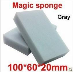 200 قطعة / الوحدة رمادي ماجيك الإسفنج الميلامين ممحاة منظف ، متعددة الوظائف تنظيف 100x60x20 ملليمتر بالجملة شبكي شحن مجاني QD11
