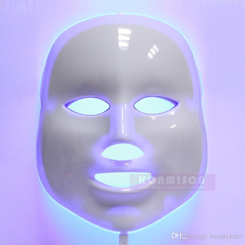 PDT Led Light Therapy Mask 7 colori ringiovanimento della pelle LED maschera facciale maschera led