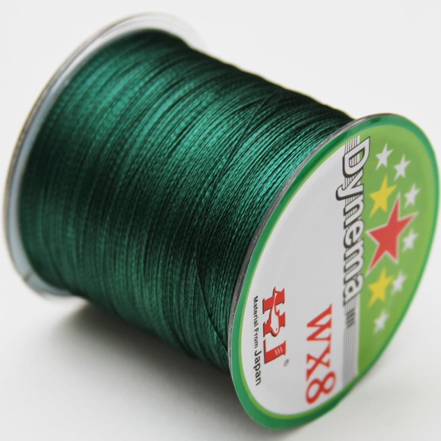 Super Strong Japanese Sea Multifilament 100% PE 8 Strands Braided Fishing Line 500M 9 color