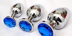 Hotanal Sieraden Anaal Zilver Inzetstuk Rvs Metalen Anale Plug Unisex Butt Speelgoed Plug Anale Speelgoed
