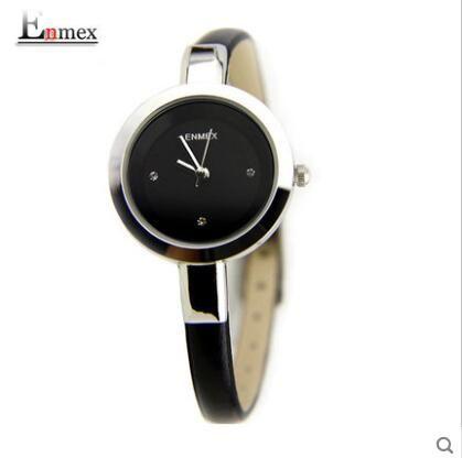 Apressado Venda Ladies Leather Strap Bracelet Watch Moda Casual relógio de pulso das mulheres Liga Caso Analógico de Quartzo Relógio de Pulso Presente Frete Grátis