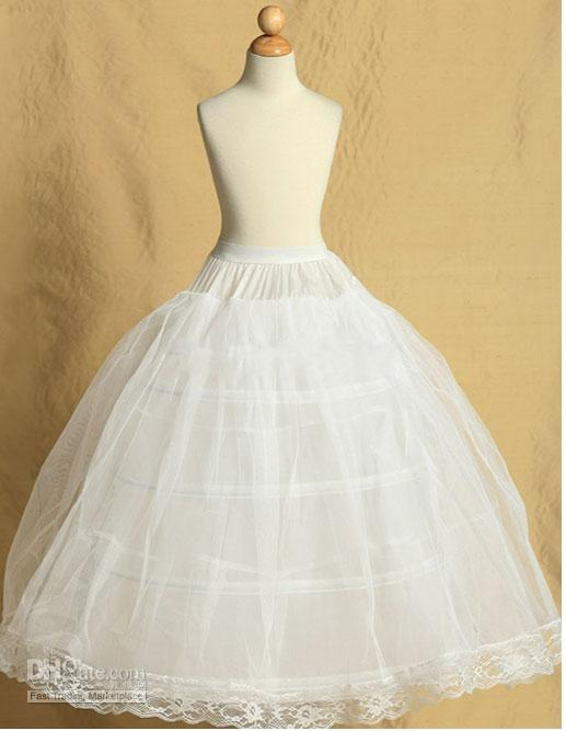 Wesele Party Dziecko Balowa Suknia Petticoat Dla Kwiat Dziewczyna Dress