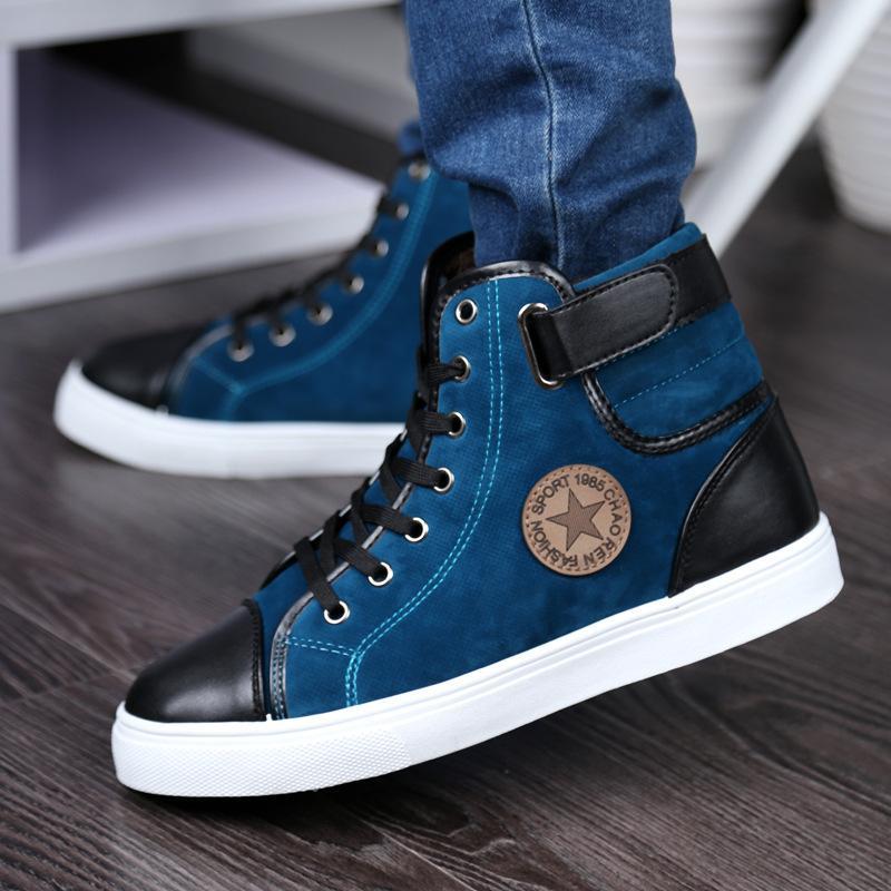 New Winter Plus Velvet Shoes Mens