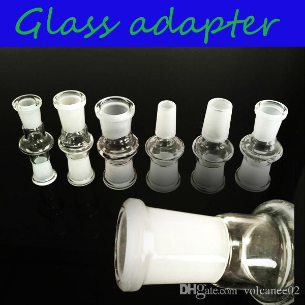 18mm Male To 14mm Male Clear Glass Reducer Adapter Connector
