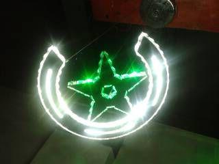 Самомоднейшая звезда блеска вела яркий цветастый переменчивый свет RGB кристаллический привесной, свет дистанционного управления крытый суспендировать
