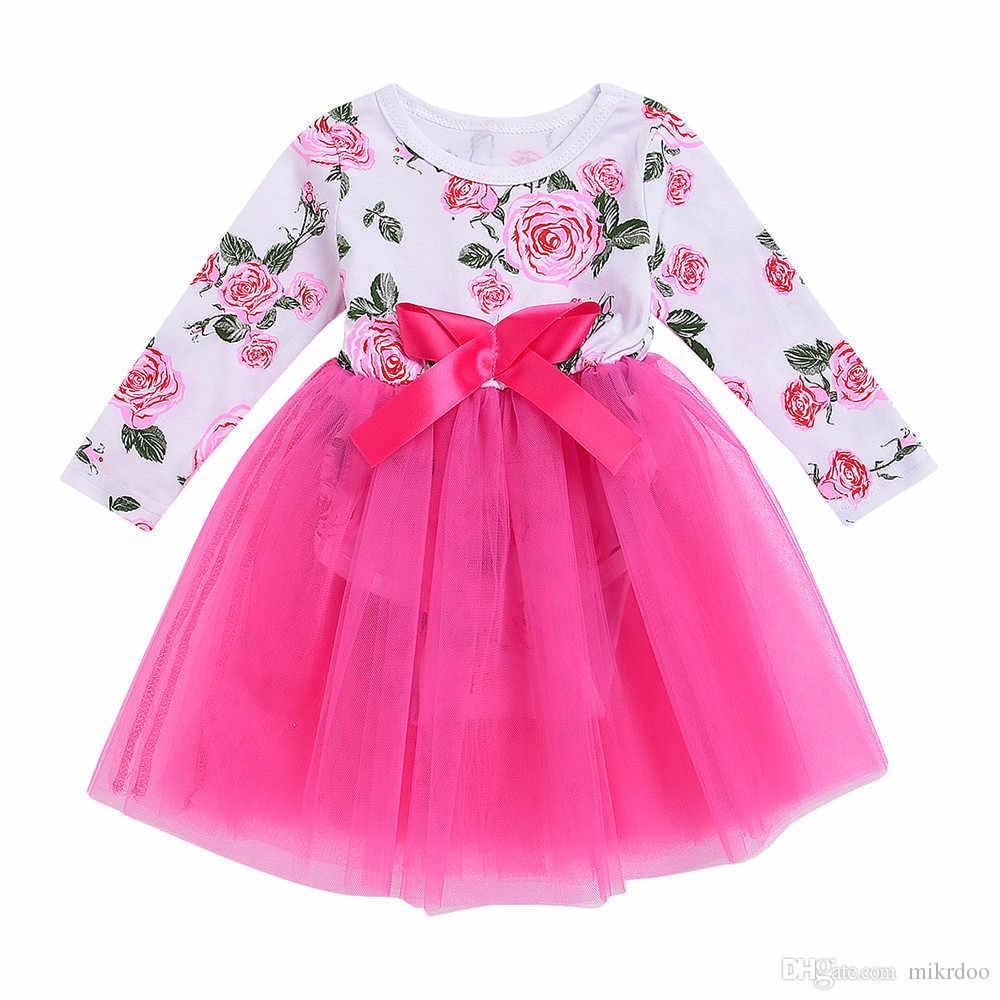 Compre Vestido Formal Del Vestido Del Mameluco Del Cordón Del Bebé ...