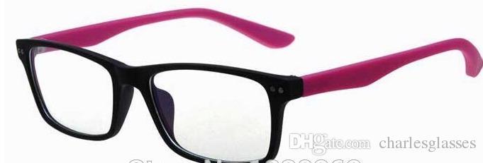 nagelneue brillenrahmen bunte kunststoff optische rahmen Ramki okularow Optik bryle 8145