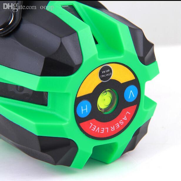 도매 로타리 레이저 레벨 5 라인 6 점으로 전자 자동 수평 레벨 635 ㎚ 레벨러 레벨 레이저 도구