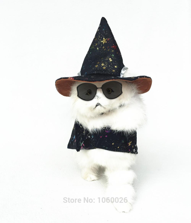 2017 New Dog Costume Clothes Halloween Party Pet Dog Cloak Coats ...
