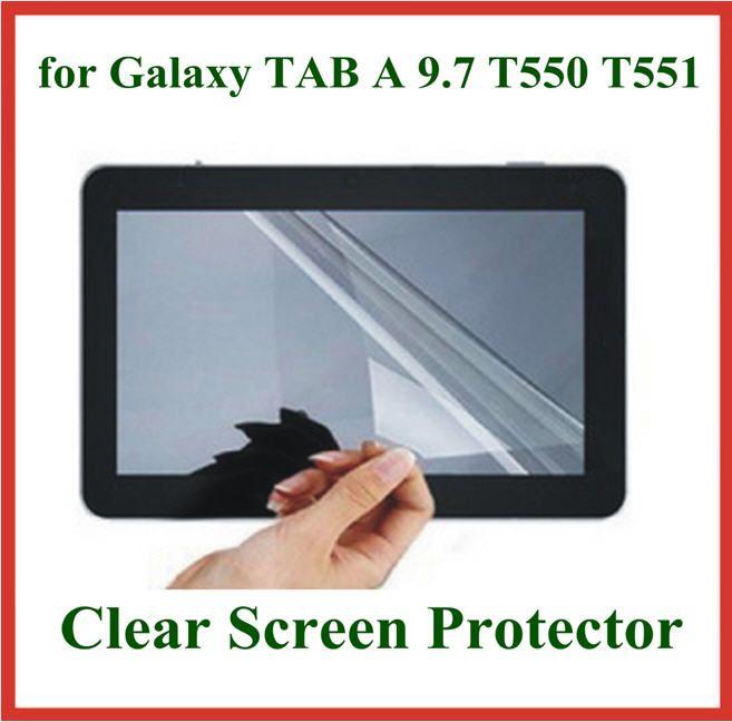サムスンギャラクシータブA 9.7 T550 T551 T555保護フィルムのための5ピースの透明なタブレットPCスクリーンプロテクター