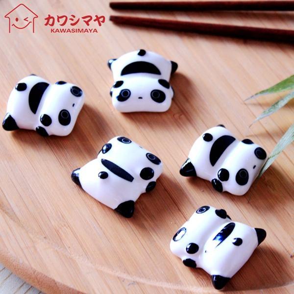 Kawashima Papa Bear lindo gato casa cerámica palillos titular atención personalizada palillos chinos palillos almohada cocina (5)