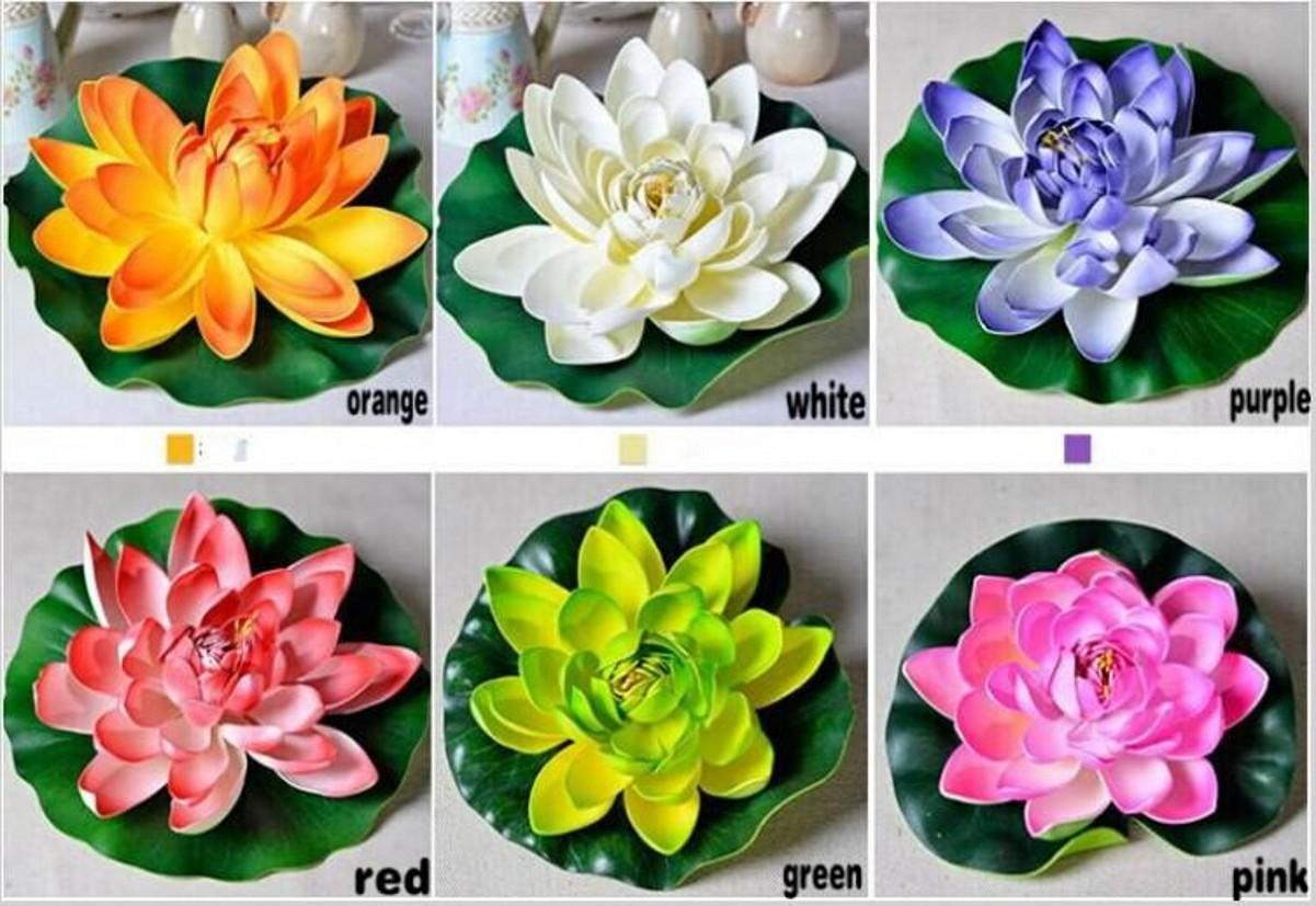 Online Cheap 60cm Huge Artificial Decorations Lotus Flower Craft