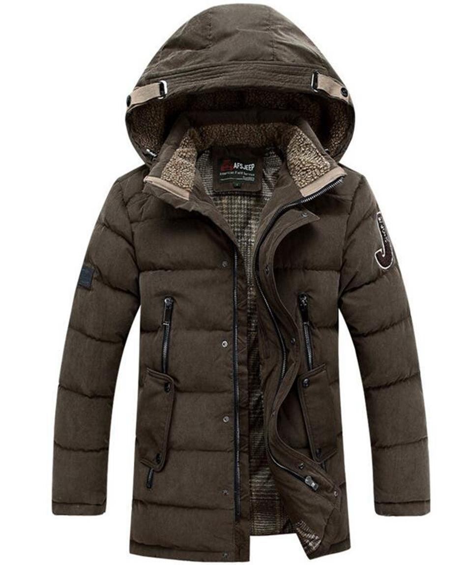 Herrenmode authentische neue Verdickung warmweiße Entendaunen Daunenjacke warme spezielle Mantel der Kultivierung der eigenen Moral. S - 3 xl