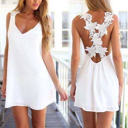 UK Womens Celeb Sexy Mini Playsuit White Jumpsuit Summer Shorts Beach Sun Dress