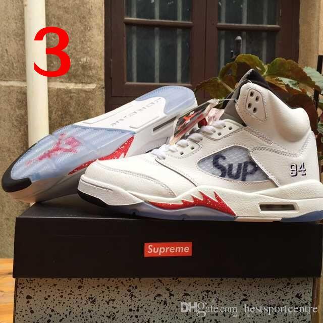 Nike Air Jordan 5 Supreme Retro V Sup