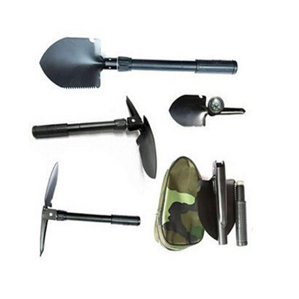 SMT Trave Hiking Multi-Functional Military Folding Shovel Survival Spade Emergency