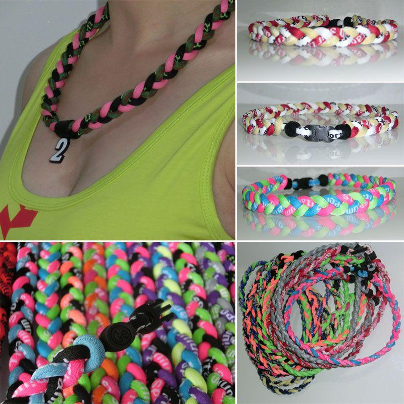 bracelet de colliers d'ions torsadées d'énergie