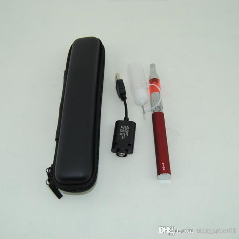 Electronic Cigarettes eGo T Starter Kit ego-t 650mAh 900mAh 1100mAh battery Mini Protank 1 Vaporizer Atomizer vape pens vs evod MT3 CE4 kits