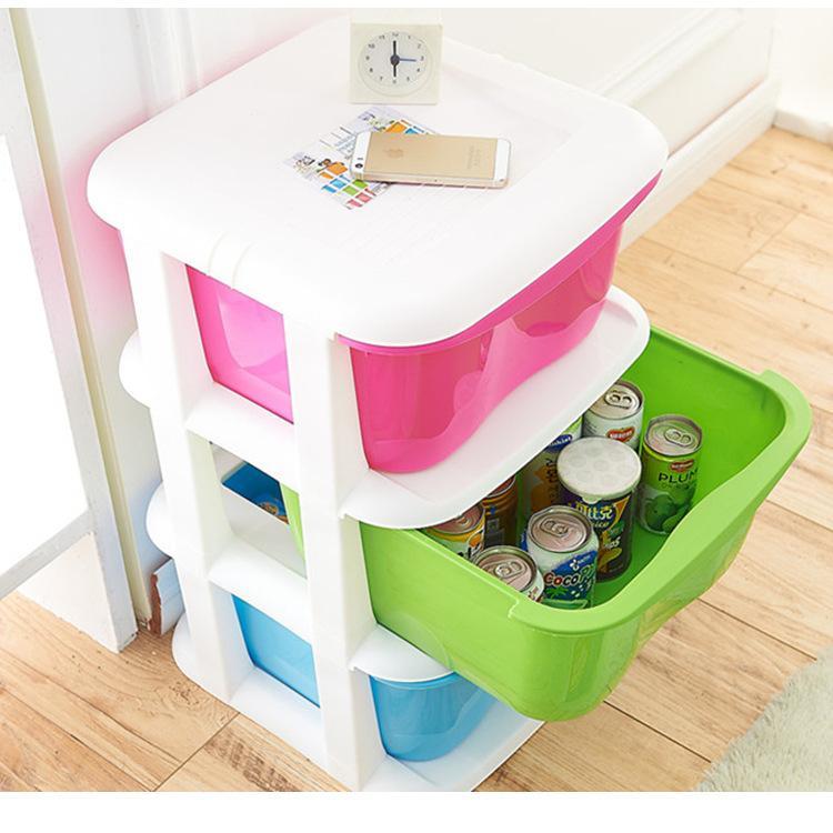 Fábrica de crianças direto gaveta de plástico armários de armazenamento de armários de acabamento do armário de armazenamento de atacado