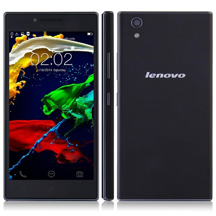 Lenovo P70-t Smart Phone 64bit MTK6732 1GB 8GB 5.0 Inch HD Screen 4000mAh Battery Cell Phone