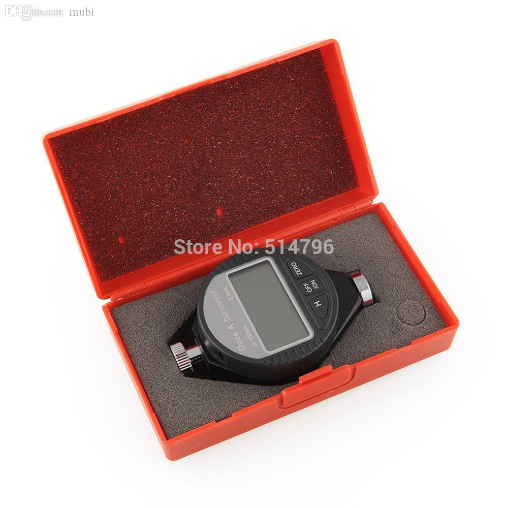Wholesale-New Digital Shore Durometer LCD Display Rubber Hardness Tester Type A/C/D(select)