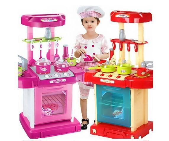 New Pretend Play Toys Kitchen Set Toys Education Toy Children Kids Childrens Role Play Toy