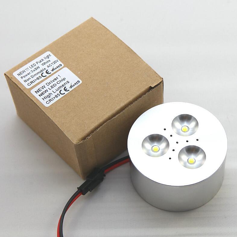 شحن مجاني 50 / PCS 6W LED النبيذ مجلس الوزراء ضوء خزانة أضواء مجلس الوزراء الخفيفة تحت ضوء LED مضادة