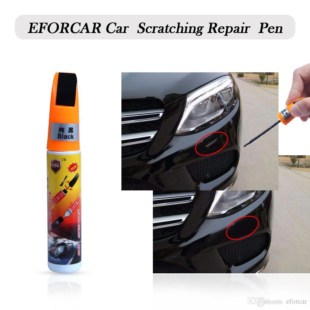 Car Auto Scratching Repair Touch Up Paint Pen White Black Silver Car Accessories Exterior Car Accessories Exterior Styling From Eforcar 0 98