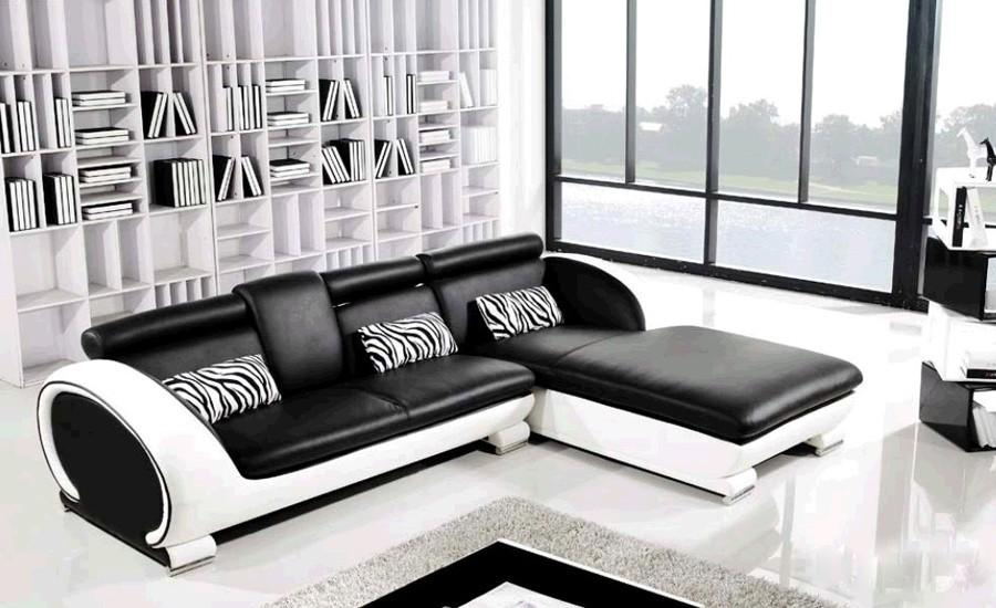 2019 Modern Sofa Design Small L Shaped Sofa Set Settee Corner Leather Sofa Living Room Couch Factory Price Furniture Sofa Set From Z799956998