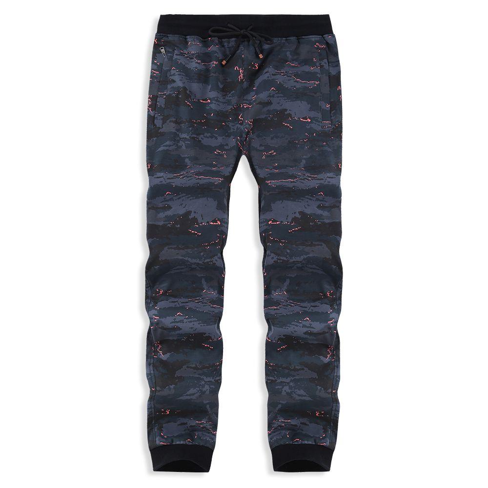 Wholesale- Plus Size 6XL 7XL 8XL Men's Casual Long Pants Track Pants Breathable Elastic Sportswear Trousers Camouflage Sweat Pants PYS-879