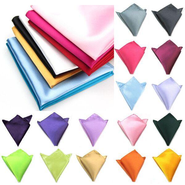 Forme el pañuelo de bolsillo de la plaza de bolsillo del pañuelo de la servilleta de los hombres para el partido de boda de la fiesta de Navidad del banquete de boda libre