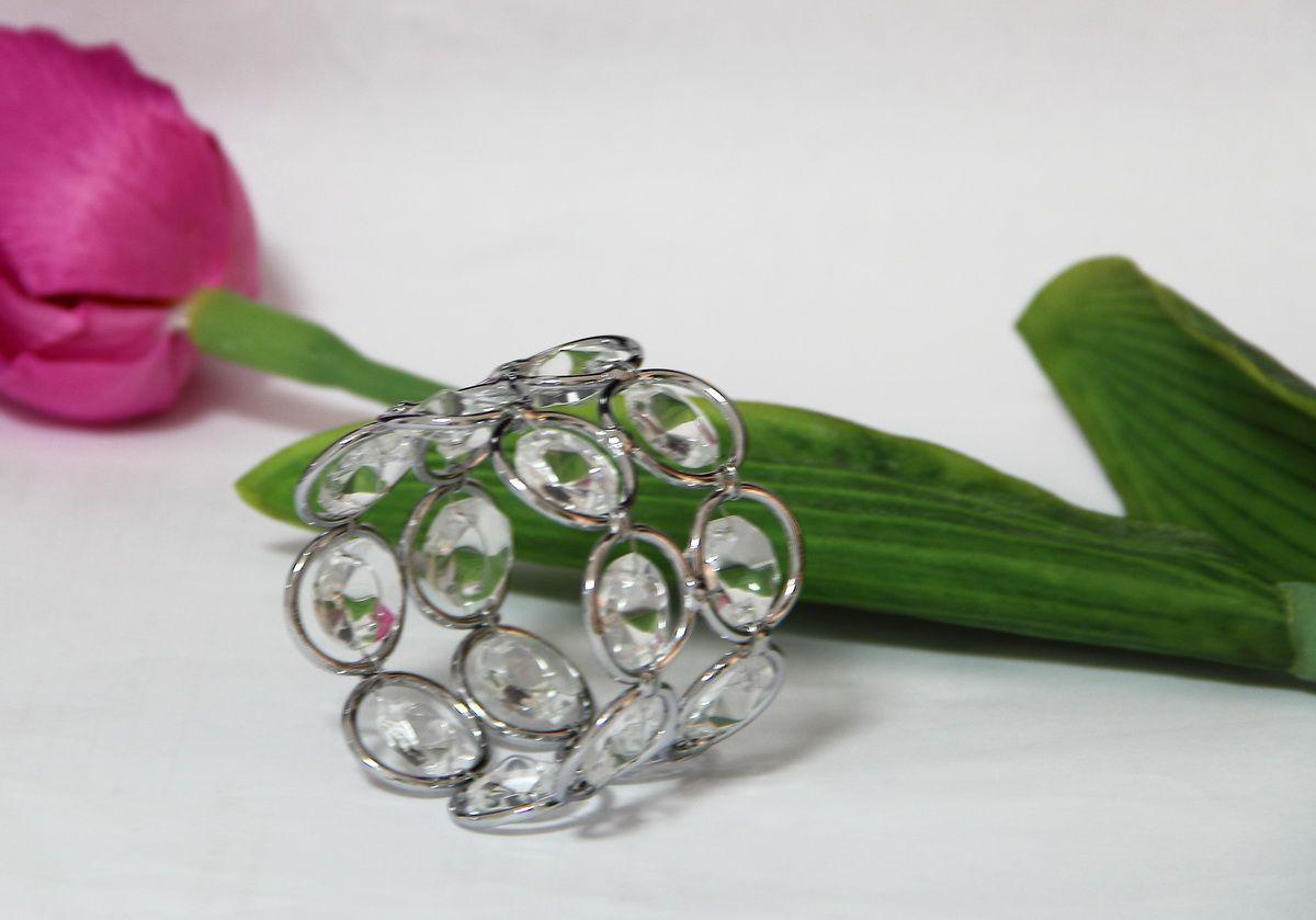 Bling Acrylic Crystal napkin rings Wedding decoration Crystal beaded bling napkin holder 5cm for home decor diameter HWB-1083S, set of 4pcs