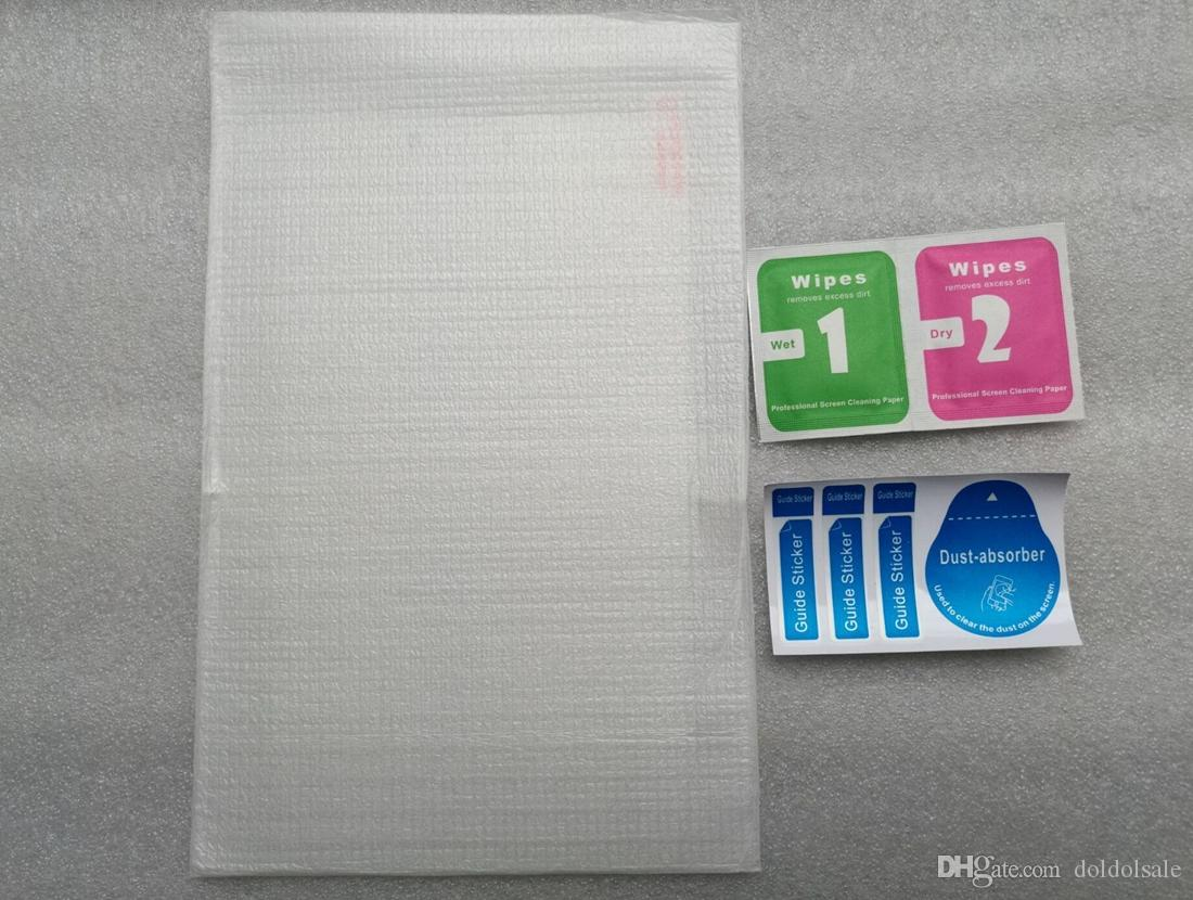 50pcs Tempered Glass Film for HP Slate 6 Voice Tab Tablet Screen Protector for HP 10 2101RA HP 10 Plus 2201RA Protective Film