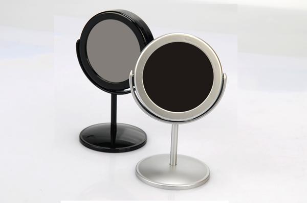 Black Frame Mirror HD Hidden Camera with Built-In DVR