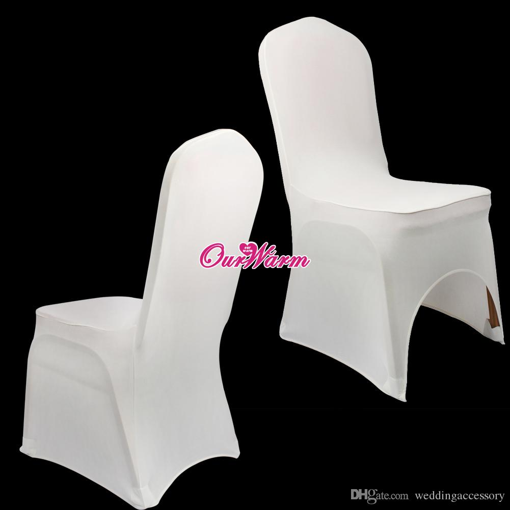Astounding Dhl Ems Free Ivory Black White Spandex Stretch Chair Cover Lycra For Wedding Banquet Party Hotel Table Decorations Cheap Chair Cover Hire Chair Sash Unemploymentrelief Wooden Chair Designs For Living Room Unemploymentrelieforg