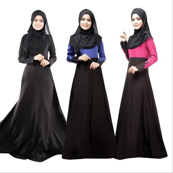 40758cd50daf3 Muslim Abaya Dress For Women Islamic Abaya Dresses Dubai Islamic Clothing  Muslim Kaftan Casual White Summer Dresses T Shirt Dresses Cheap From  Yiyiku, ...