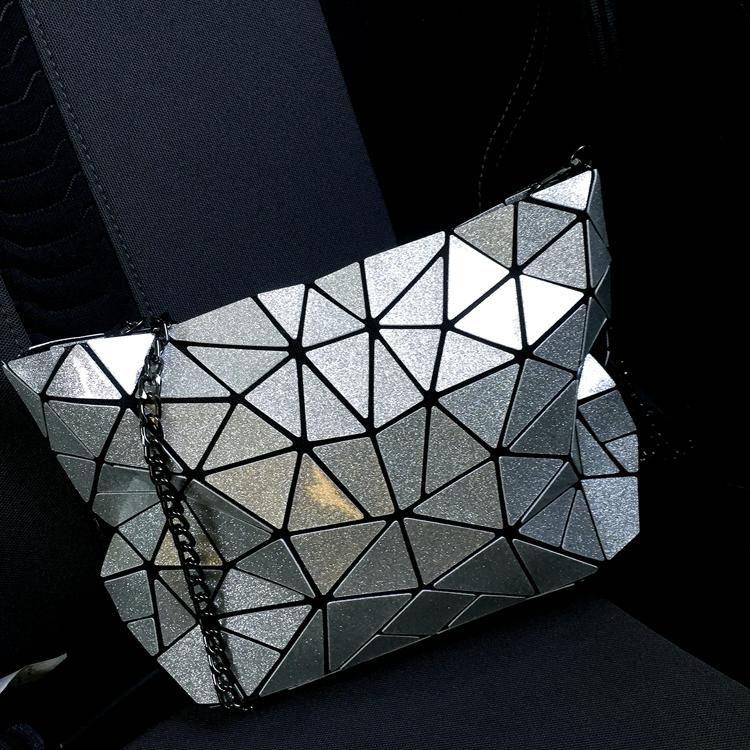 2017 korea style women baobao bags female geometric plaid stars and rainbows messenger bag women handbag mini shoulder bags