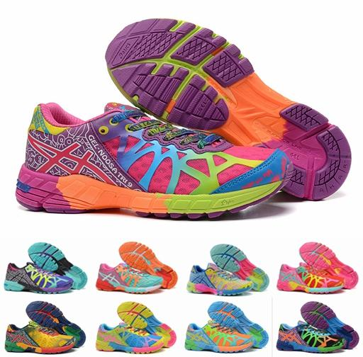 asics colorful shoes - 62% OFF
