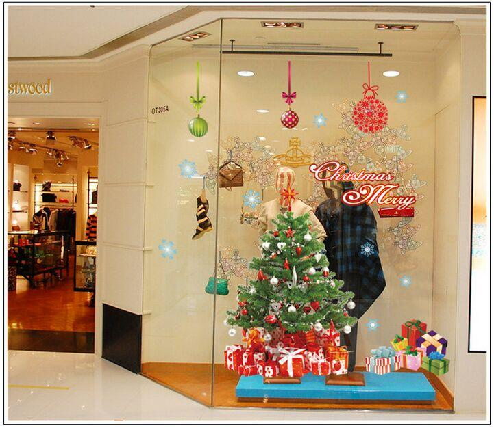 DIY Home Decoration Removable Christmas Tree The Santa Claus Wall ...