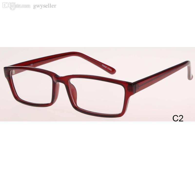 Al por mayor-2015 Nuevas gafas clásicas Mujeres gafas de ojo óptico hombres Gafas oculares Gafas de prescripción Miopía presbicia