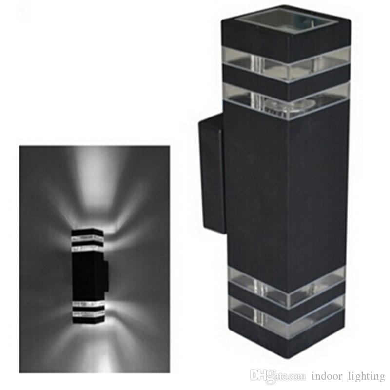 10pcs 현대 8w 주도 벽 램프 방수 위아래로 측면 / led 현관 조명 / led 벽 빛 방수 야외 2 년 보증