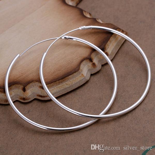 브랜드의 새로운 스털링 실버 여성의 925 실버 매달려 샹들리에 귀걸이, 10쌍 많이 이어링 DFMSE042 부드러운 도금