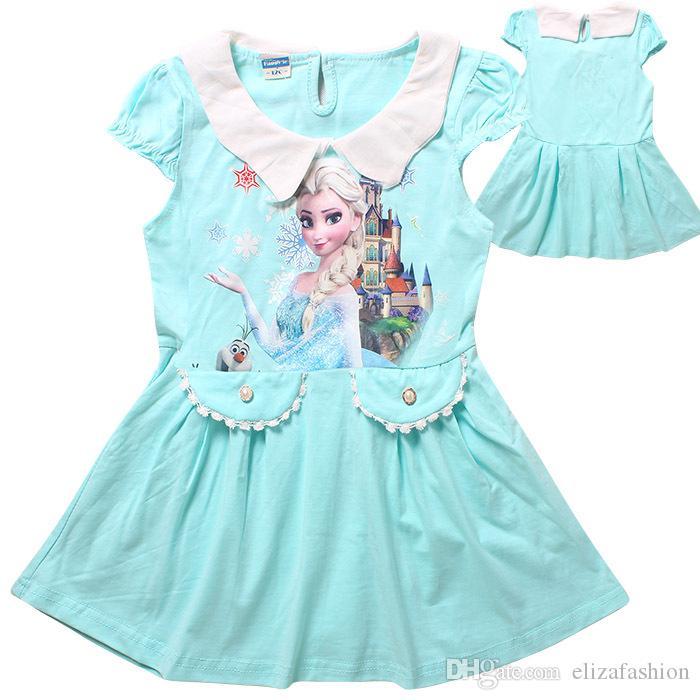 Elsa kleid rot