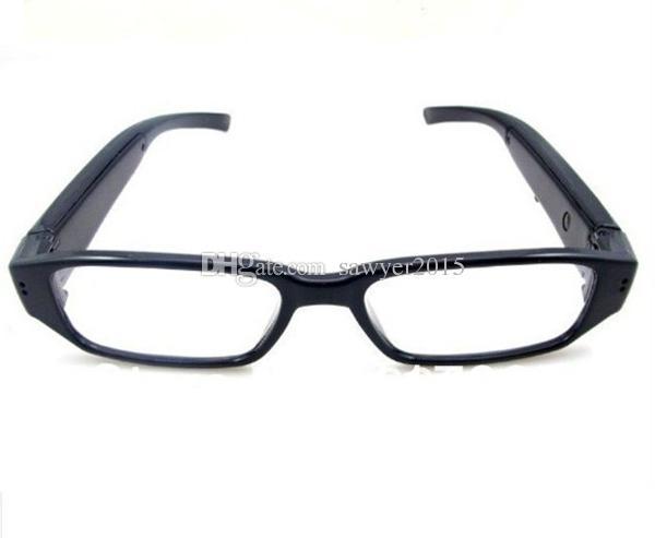 HD 1080p glasses mini camera eyewear pinhole camera Sunglasses MINI DV DVR digital voice video recorder black