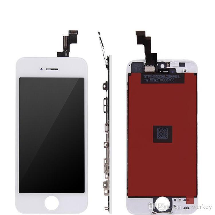Front Assembly LCD Display Touchscreen Digitizer Ersatzteil für iphone 4 GSM / 4S Schwarz / Weiß Hohe Qualität