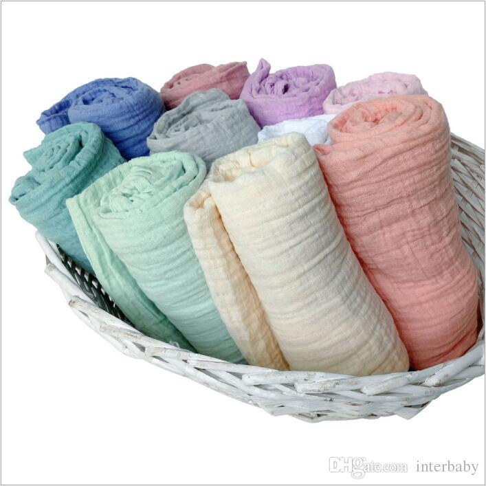 Aden Anais Swaddles Musselina Cobertores Do Bebê Em Toalhas de Banho Wraps Berçário Cama Recém-nascidos Algodão Swadding Parisarc Robes Quilt Foto Prop B3568